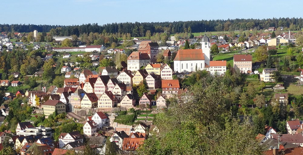 Small city of Altensteig