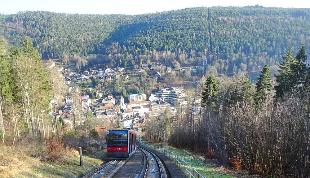 Le funiculaire de Bad Wildbad