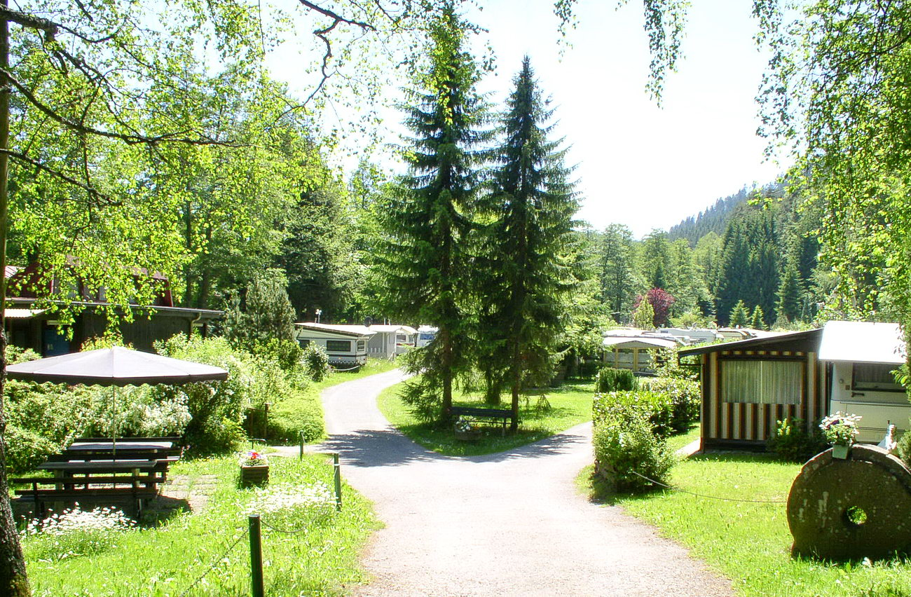 Caravan-Area campground Müllerwiese