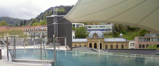Bad Wildbad im Schwarzwald, Palais Thermal