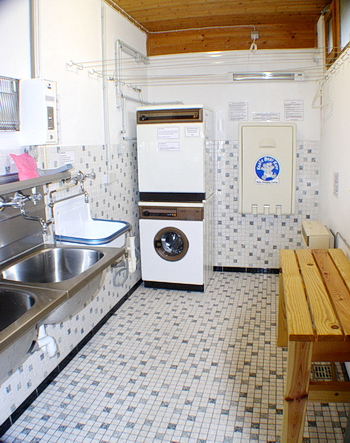 Laundry and washing-up room