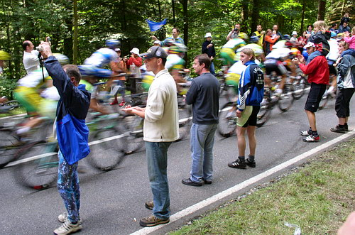 Tour de France in the Black Forest 2005